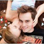 engagement, love, hearts, kiss, engagement photography, cudna para młoda, sesja narzeczeńska