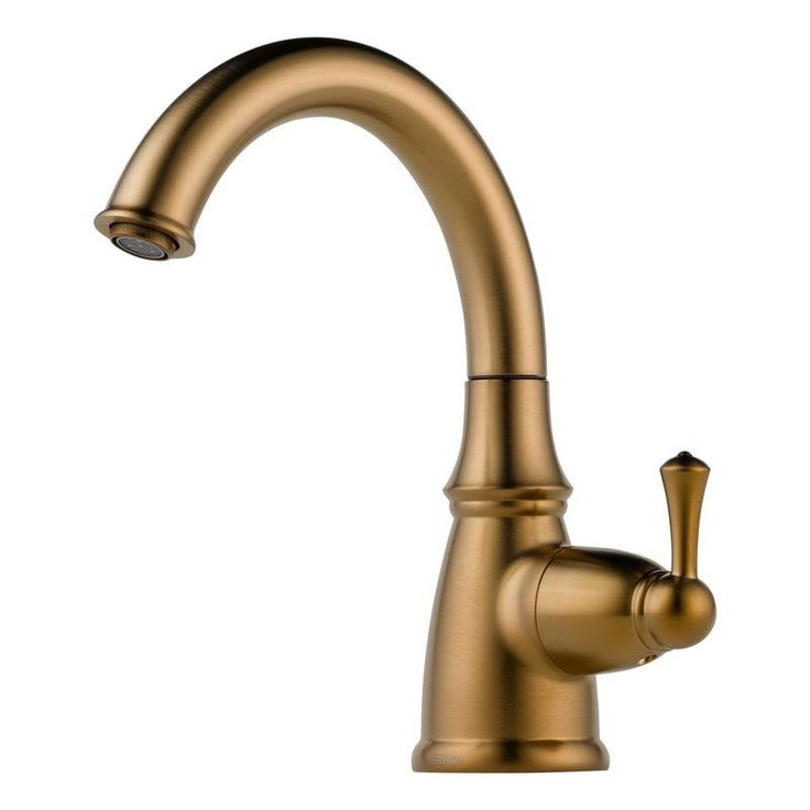 Brizo 61310LF Traditional Beverage Faucet that Works with RO Systems Filtered W Brilliance Brushed Bronze Faucet Water Dispenser Cold Only