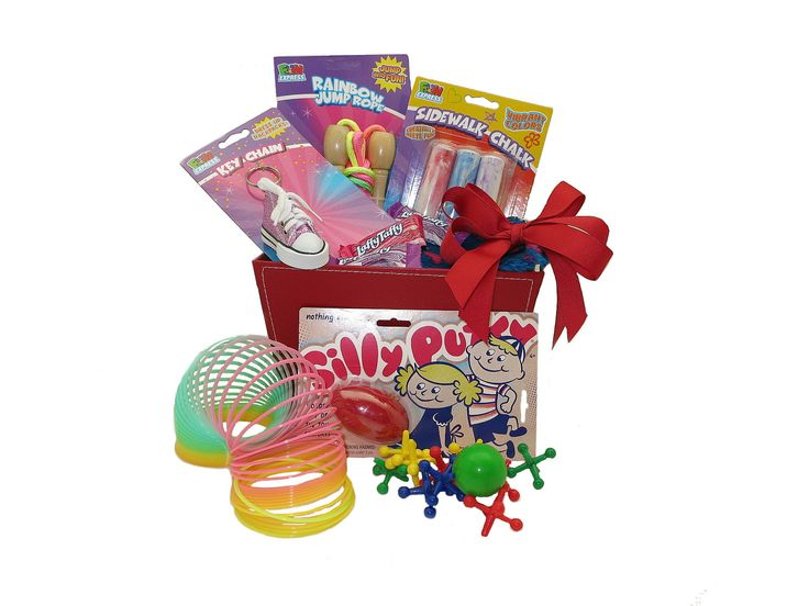 Surprise your favorite camper with this colorful fun-filled gift basket package! It comes with loaded with activity based toys that will provide hours of fun , along with a few treats to enjoy! Contains: Several Assorted Camp Toys and Treats