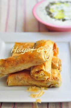baklava yufkasında börek tarifi