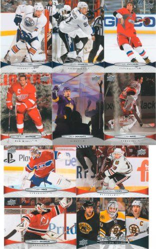 2011  2012 Upper Deck Hockey Series 1 Complete Mint Basic Hand Collated 200 Card Veterans Set Including Alexander Ovechkin Steven Stamkos Carey Price Martin Brodeur John Tavares Jonathan Toews Drew Stafford Henrik Zetterberg Cam Ward Roberto Luongo Phil Kessel Joe Thornton Taylor Hall Nicklas Lidstrom and Others ** Check this awesome product by going to the link at the image. (Note:Amazon affiliate link)
