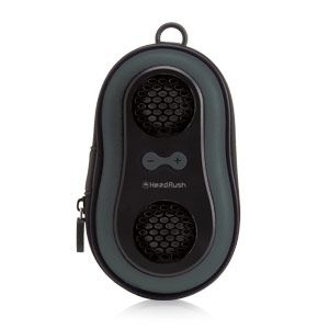 HEADRUSH TOUCH N GO MP3 SPEAKER - GREY