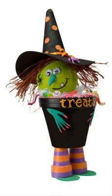 Witch Treat Pot how to