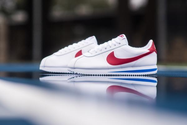 Nike Cortez Basic Leather OG WhiteVarsity Red   Nike