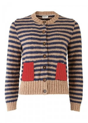 Orla Kiely and PeopleTree: Orla Kiely, People Trees, Fashion, Crop Cardigans, Kiely Crop, Clothing, Cute Sweaters, Pockets, Trees Design