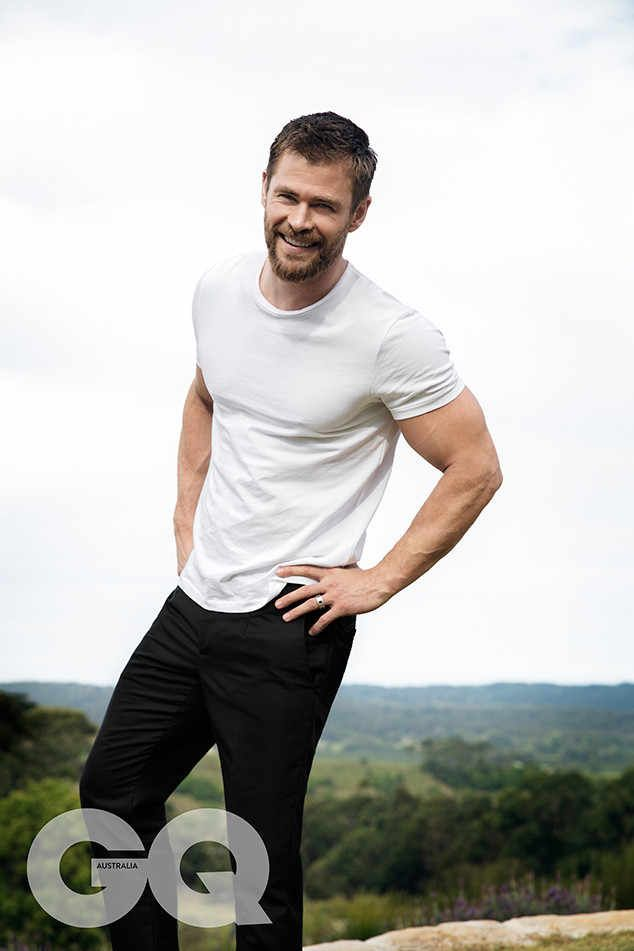 Chris Hemsworth, GQ Australia