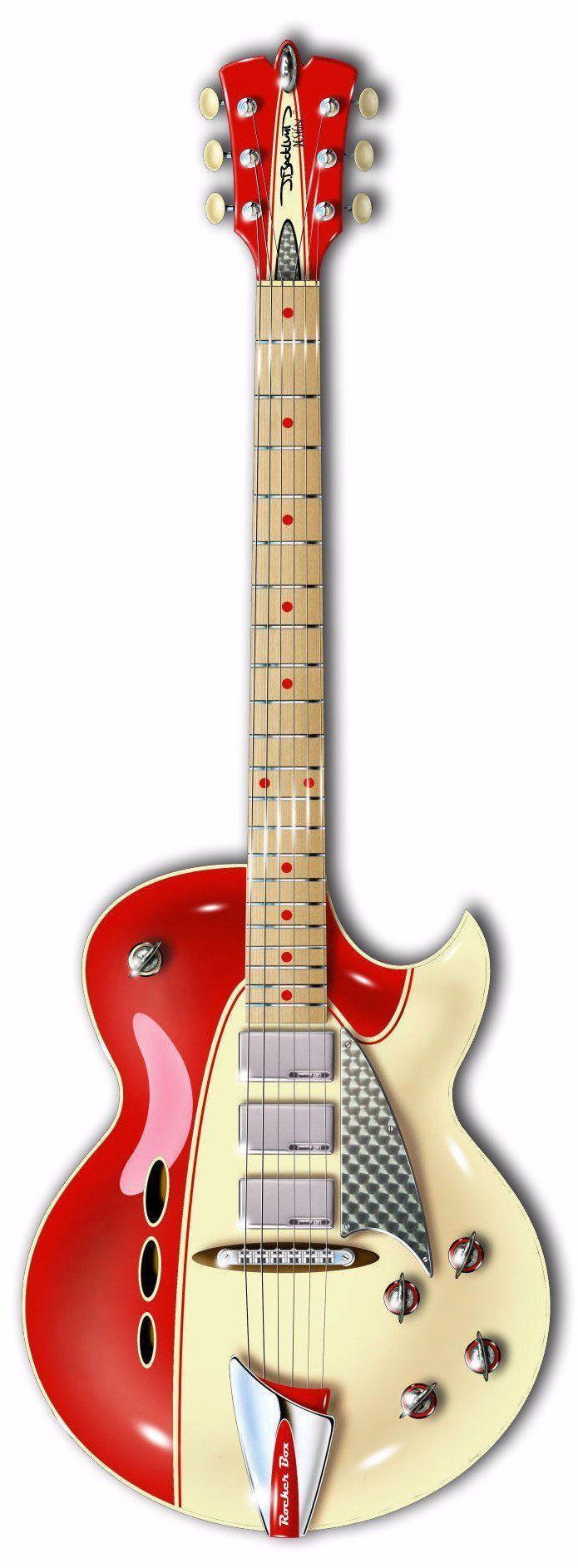 Rocker Box #vintageguitars #beautifulguitars