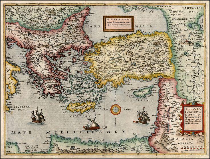 https://flic.kr/p/BANxoW | Turcia Turci Cive Imperii, Cornelis De Jode, 1593--