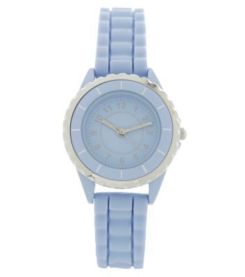 Pastel Blue Mini Sports Watch