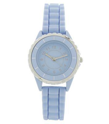 Pastel Blue Mini Sports Watch