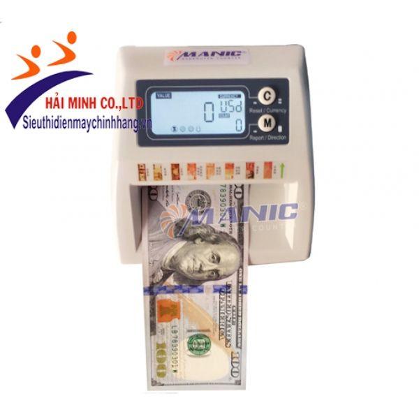 Máy đếm và kiểm tra 8 loại ngoại tệ USD, EURO, JPY, GBP, CAD