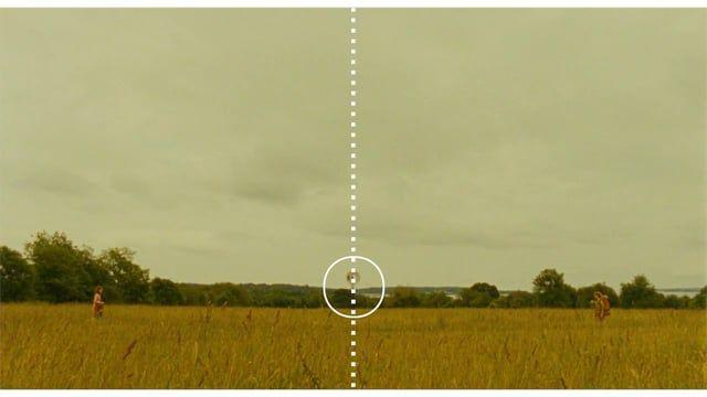 Simetría - Wes Anderson