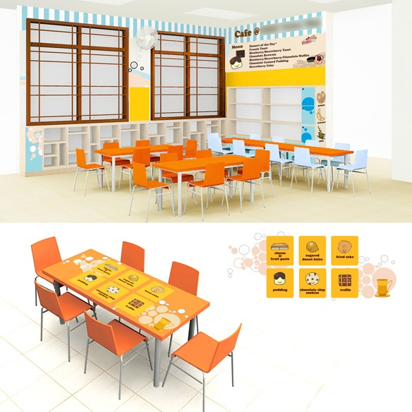 Dining Area for Kids