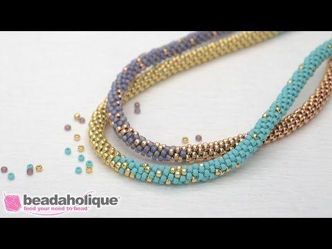 Hier zeige ich euch wie ihr selber, eine mehrreihige Perlenkette machen könnt. Halsketten selber machen ist kein Problem :-) Mit dieser Methode könnt ihr gan...