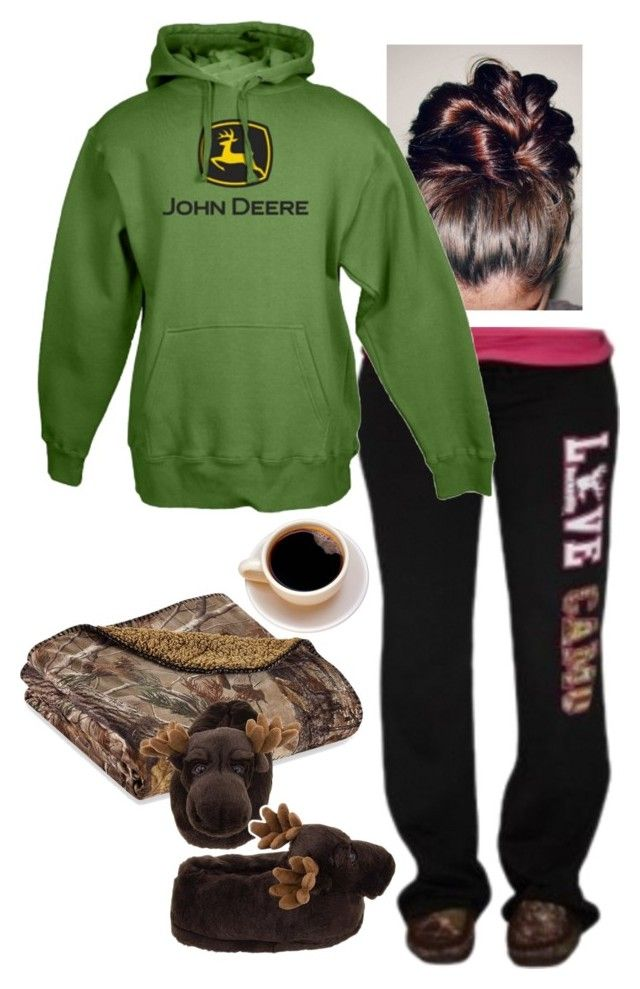 """Untitled #763"" by raygenbrand ❤ liked on Polyvore featuring Realtree, John Deere, women's clothing, women, female, woman, misses and juniors"
