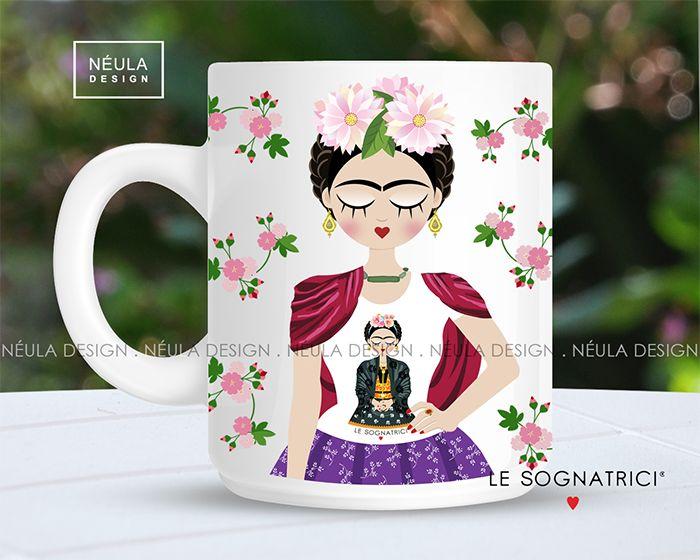 Frida indossa le Sognatrici - Frida Kahlo -