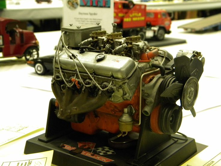 This Is A Model Engine