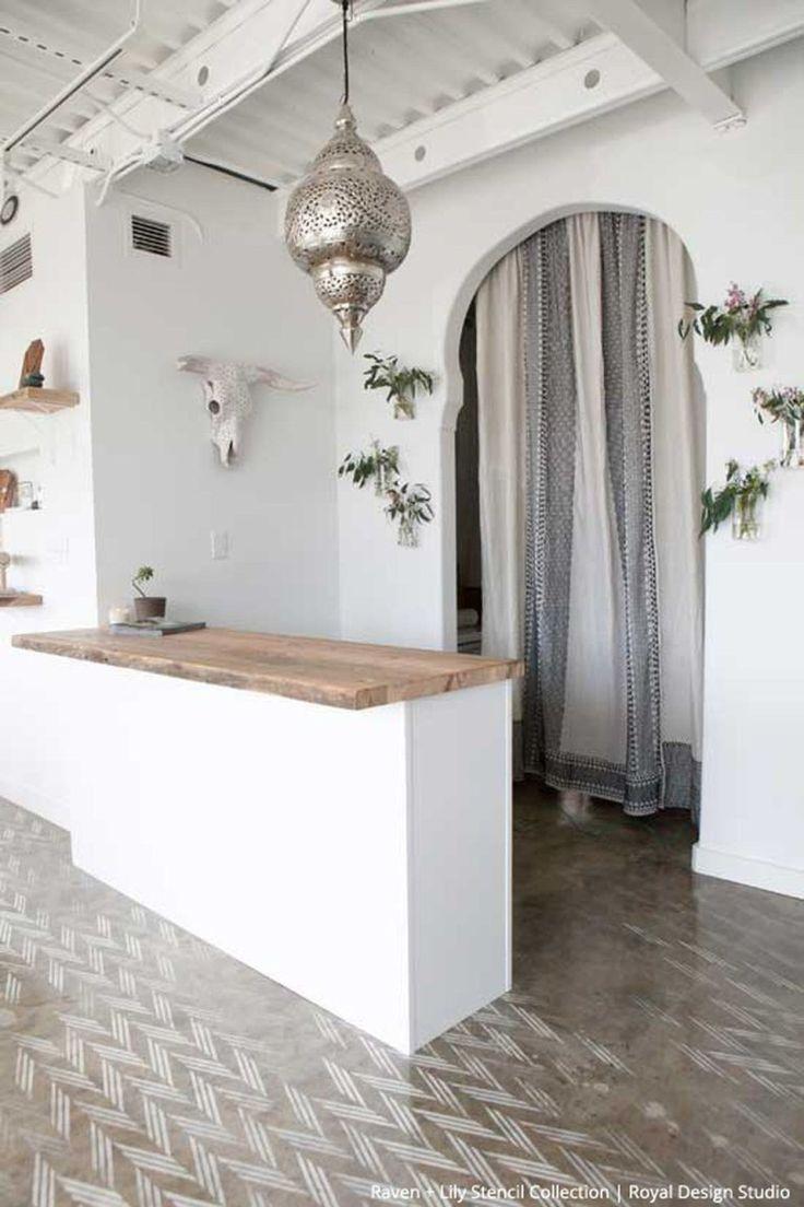 Incredible diy reception desk ideas 56 Yoga studio