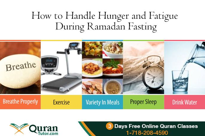 how to tackle hunger while fasting in Ramadan