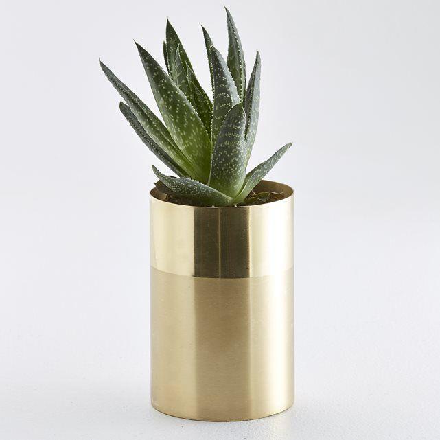 Image Ikalo Two-Colour Metal Vase La Redoute Interieurs
