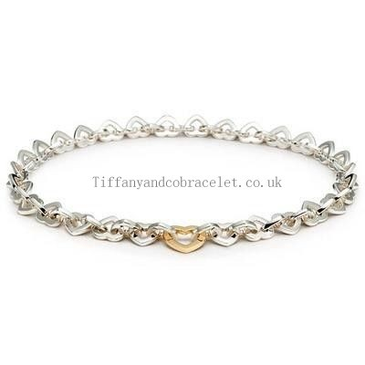 http://www.cheapstiffanyandcoclub.co.uk/delicate-tiffany-and-co-necklace-heart-link-silver-and-gold-012-wholesale.html#  Attractive Tiffany And Co Necklace Heart Link Silver And Gold 012 Sale