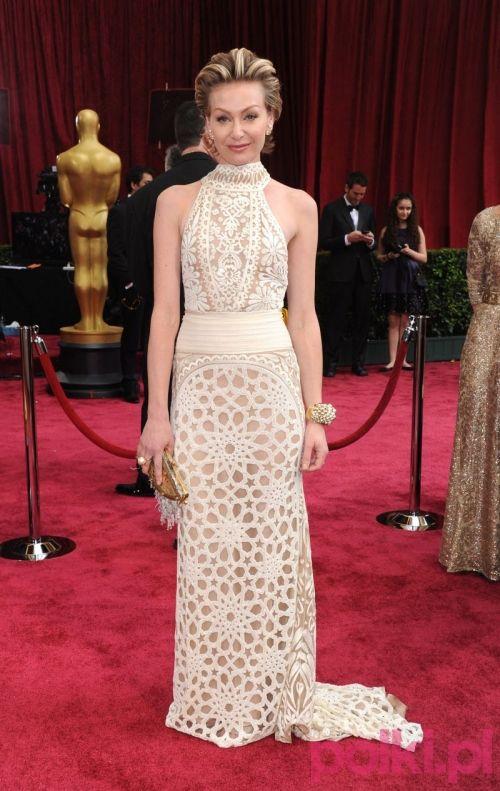 Oscary 2014: Portia de Rossi w kreacji Naeem Khan. Wspaniała inspiracja ślubna