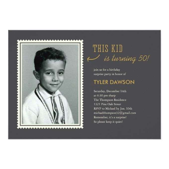1404 best 60th birthday invitations images on pinterest 60th old photo surprise birthday party invitations bookmarktalkfo Choice Image