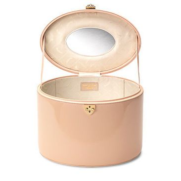 Create the Look- Vintage Vanity case in Nude by Aspinal of London, love love love this!