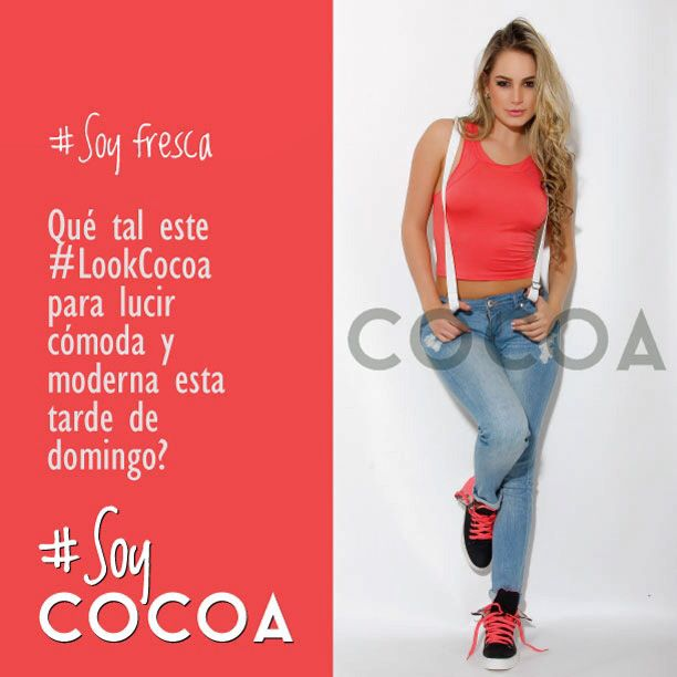 Cocoa tiene todo lo que necesitas para estar siempre a la moda, outfit completo @Cocoa Jeans #SoyFresca #SoyModerna #SoyCocoa