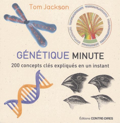 Génétique minute/Tom Jackson, 2016  Lilliad Cote 576.5 JAC http://lilliad-primo.hosted.exlibrisgroup.com/33BUBLIL_VU1:default_scope:33BUBLIL_ALEPH000641188