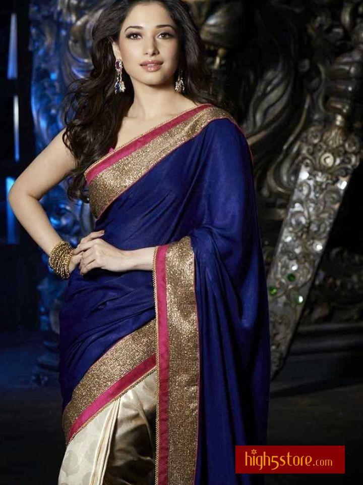 http://www.high5store.com/designer-sarees/188388-amazing-blue-off-white-crepe-designer-saree.html