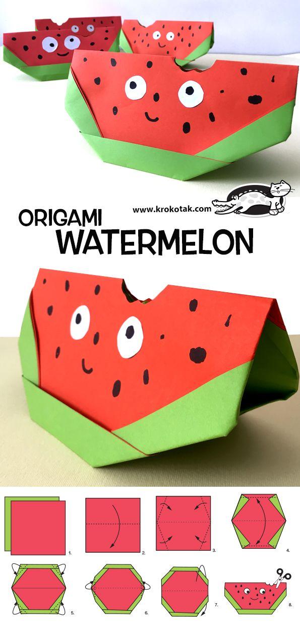 ORIGAMI WATERMELON