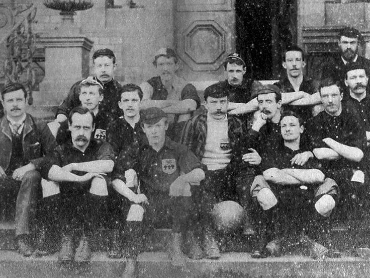 155 years ago today Sheffield FC was formed. here is a picture of the team in 1890