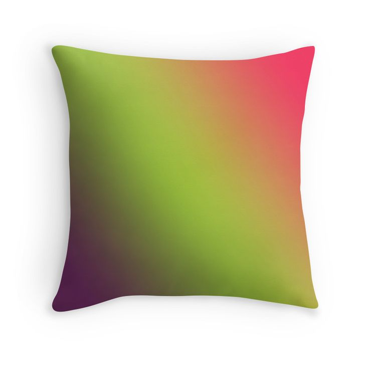 Beautiful Cushions/The Block Collection/TripleThreat Gradient Byzantium Awesome Android Green