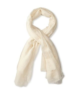 59% OFF Rick Owens Women's Lightweight Scarf (Milk)