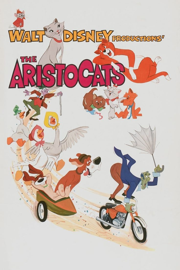 ...  The Aristocats is a mostly middling effort for Disney, it is redeemed by terrific work from its voice cast and some jazzy tunes.