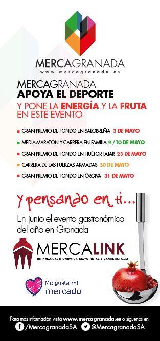 Mercagranada, Spain Sport event poster