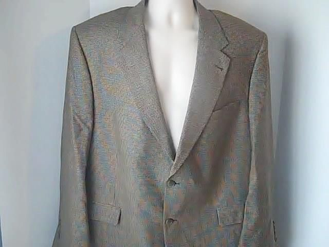 Palm Beach Mens 50 R Sports Jacket  Silk Wool #PalmBeach #TwoButton