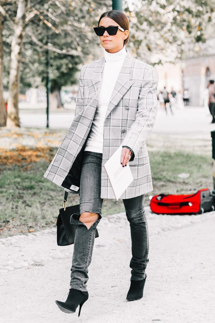23 Easy Thanksgiving Outfits To Wear at Home via @WhoWhatWear