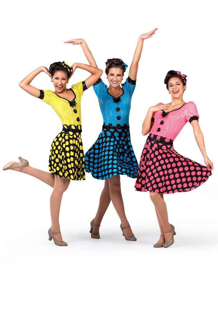 Always wanted to do a 50's style dance... And these are perfect costumes for it