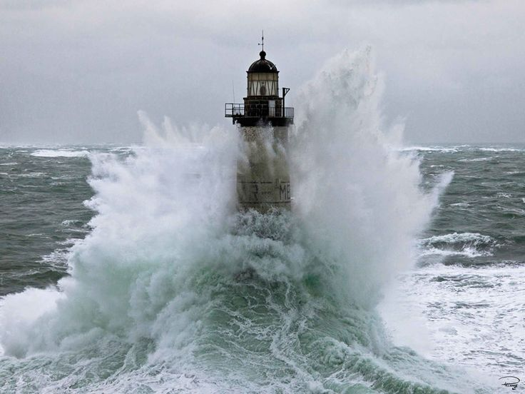 Ar Men Lighthouse by Philip Plisson Photographic Print