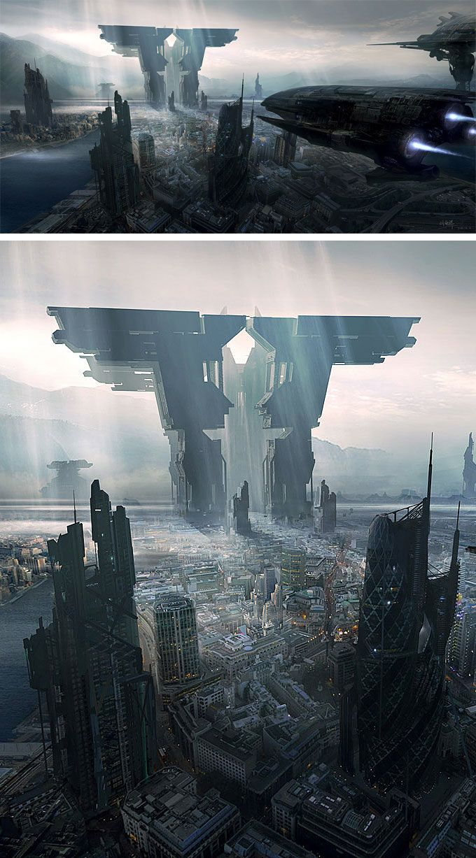 Digital Art Inspiration and Tutorials – The Round Tablet » Matte Painting