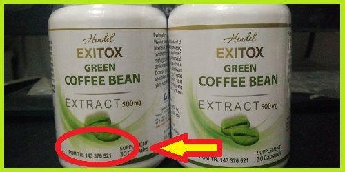 hendel exitox,green coffee hendel