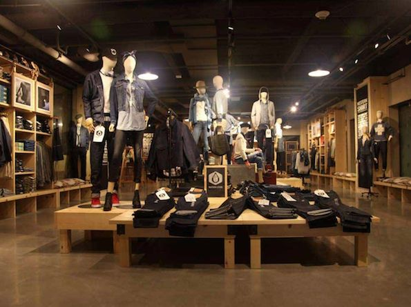 Levi 39 S Plaza Store Work Pinterest Levis Display And Search