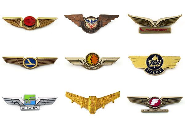 Airline wing collection of Cameron Fleming.