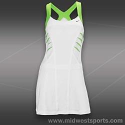 I thought Maria Sharapova's new tennis dress was great looking.