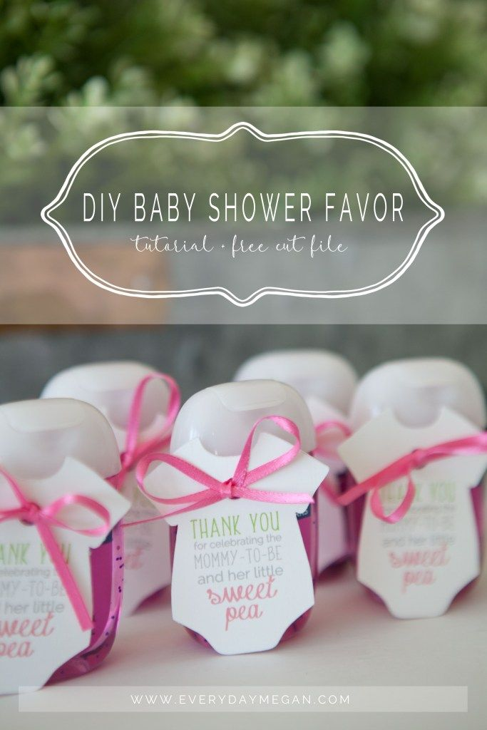 How To Make A Diy Baby Shower Favor Baby Shower Favors Girl