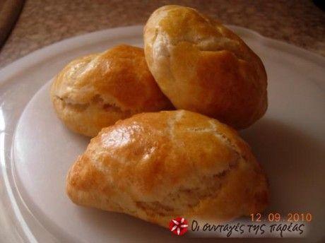 Τυροπιτάκια με ζύμη κουρού 2