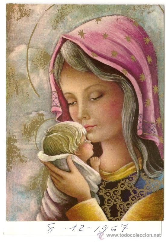 Imágenes-de-la-Virgen-María-y-el-Niño-Jesús-15.jpg (550×802)