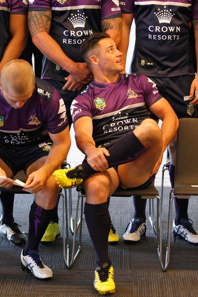 Cooper Cronk Photos: Melbourne Storm Media Opportunity http://footyboys.com
